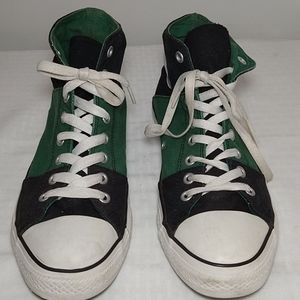 Converse All Star Chuck Taylor black and green